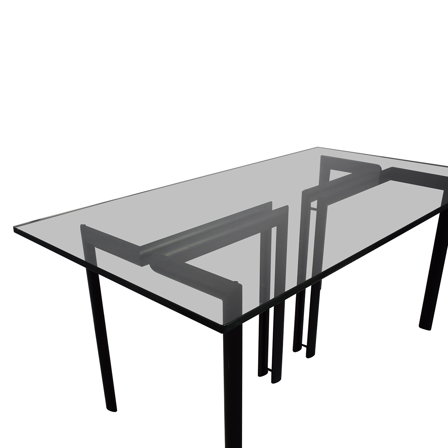 Glass Dining Room Table / Tables