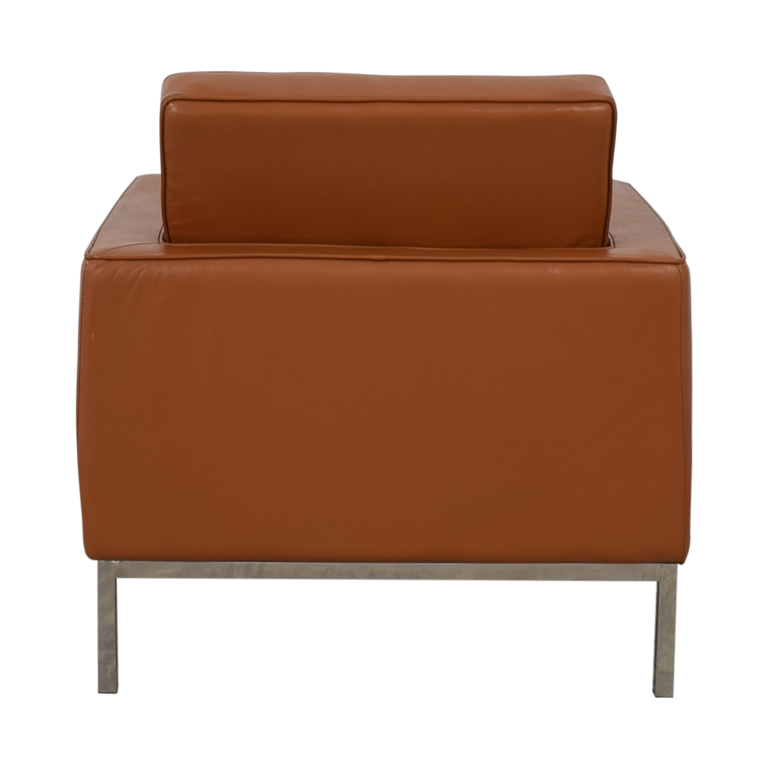 Kardiel Kardiel Brown Leather Chair discount