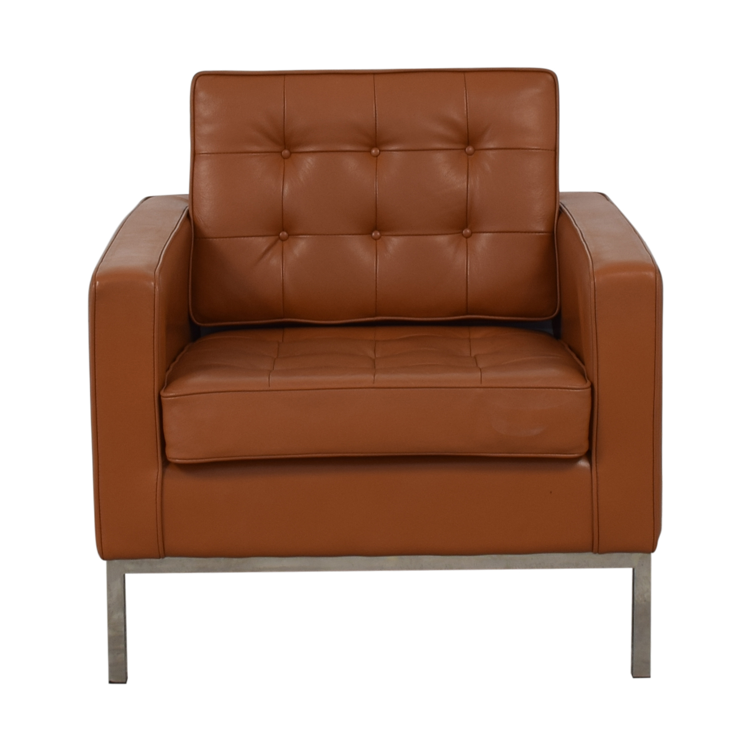 Kardiel Kardiel Brown Leather Chair Chairs