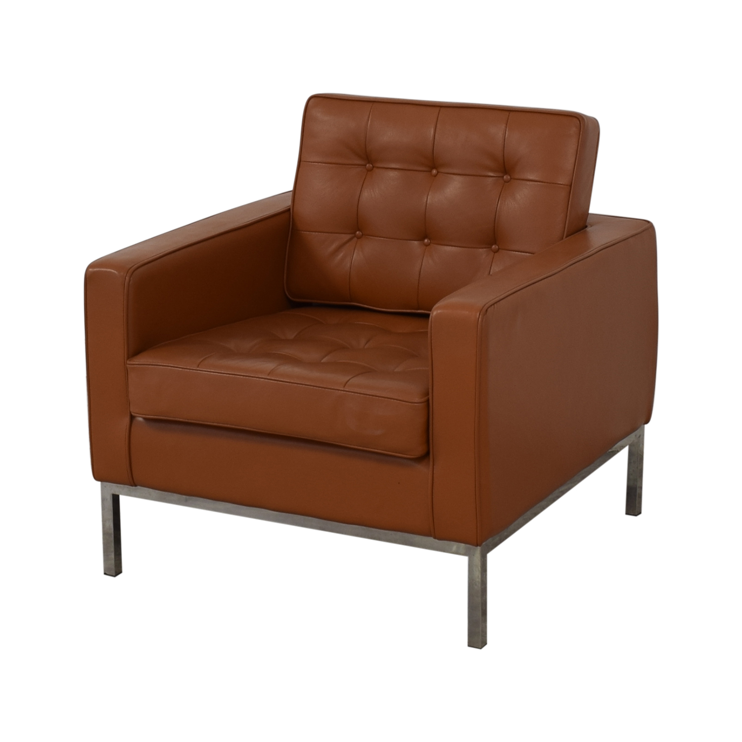 Kardiel Kardiel Brown Leather Chair price
