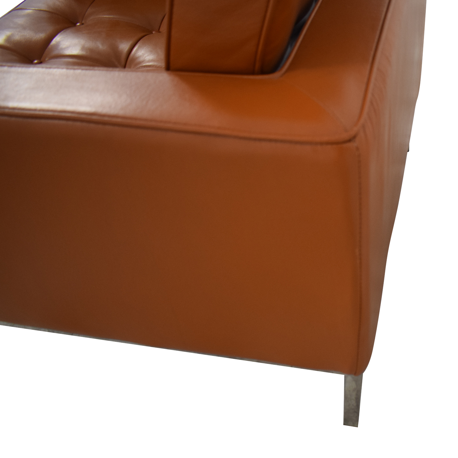 shop Kardiel Brown Leather Chair Kardiel Chairs