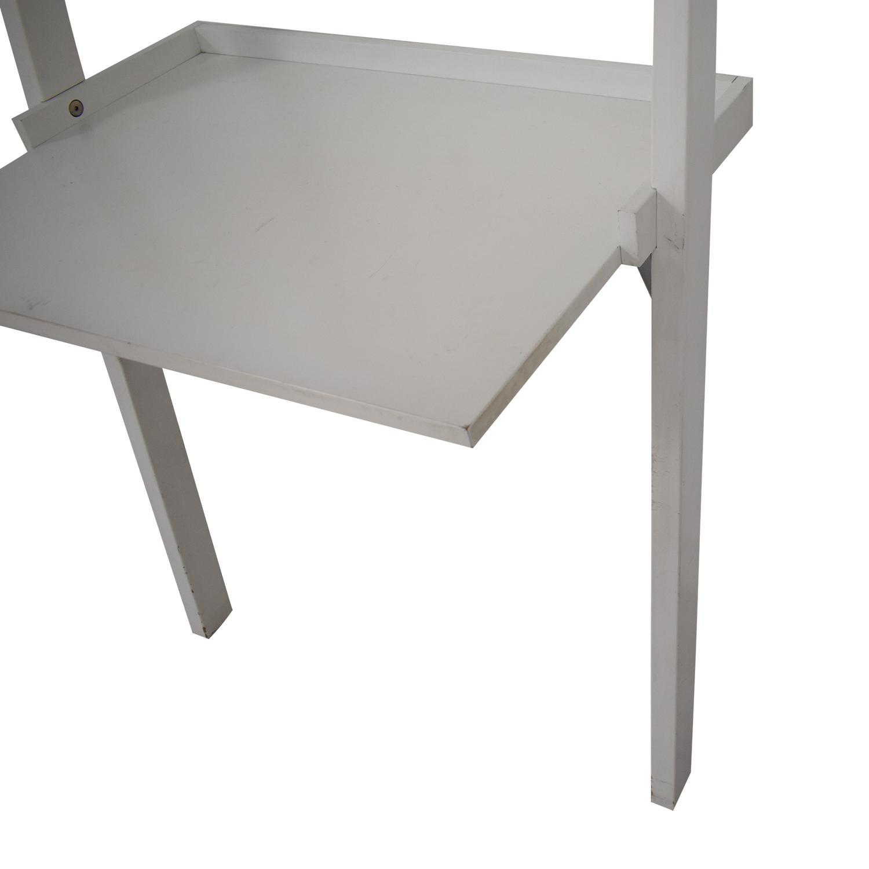 Crate & Barrel Crate & Barrel Leaning Shelf Desk Storage
