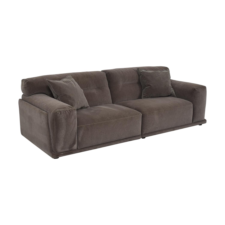Natuzzi Dorian Grey Sofa / Sofas