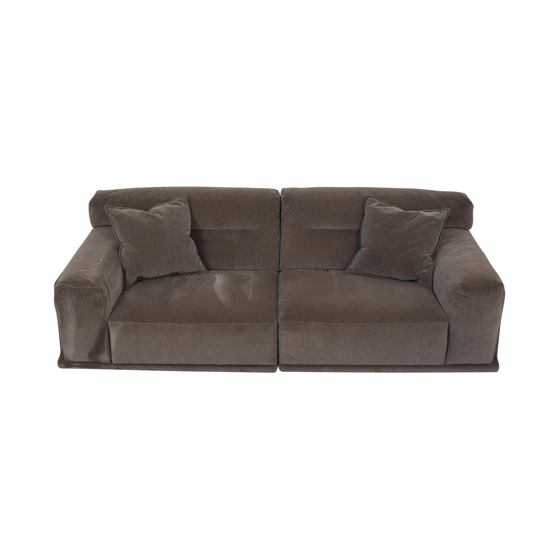 Natuzzi Natuzzi Dorian Grey Sofa discount