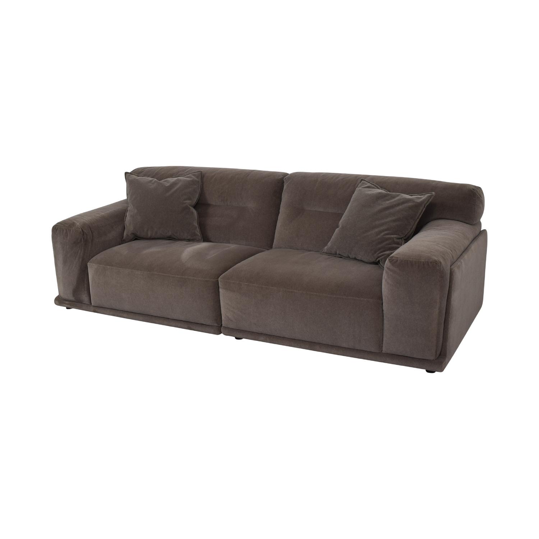 Natuzzi Dorian Grey Sofa Natuzzi