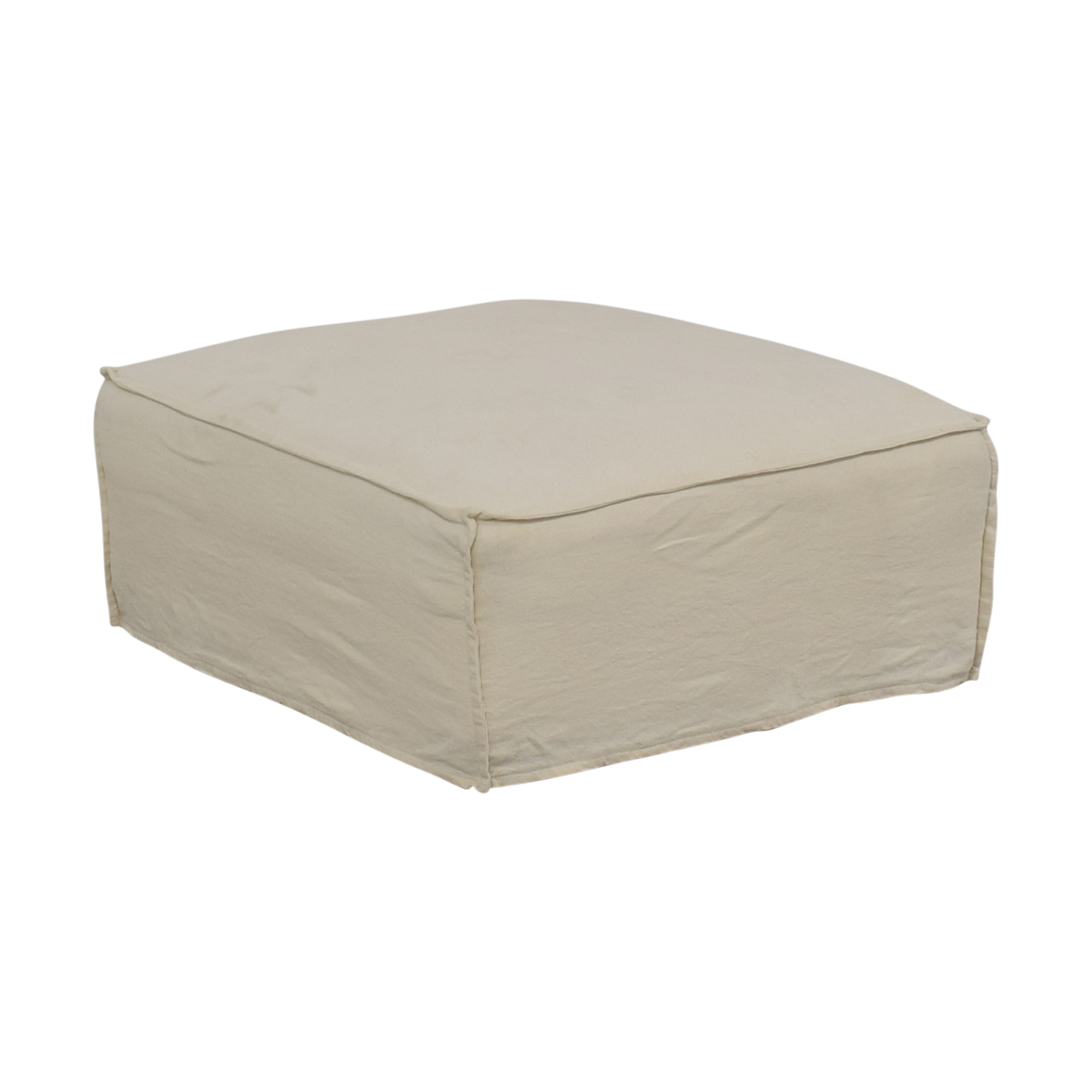 Crate & Barrel Oasis Ottoman Crate & Barrel