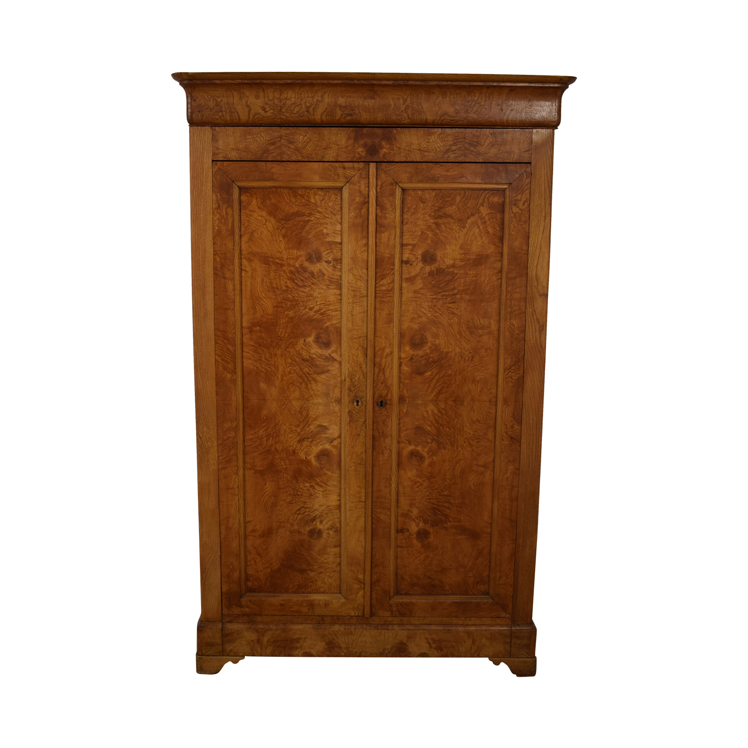 Wood Armoire brown