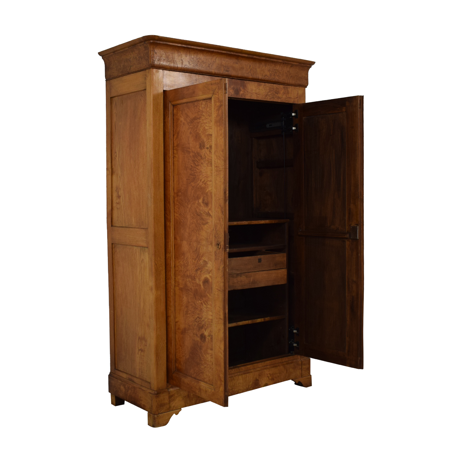 Wood Armoire on sale