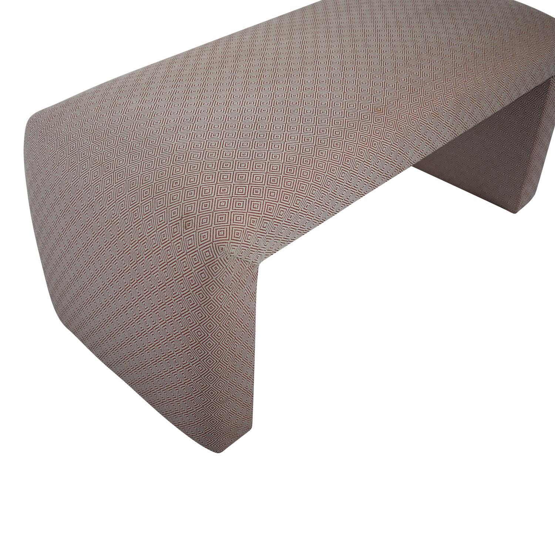 shop Custom Upholstered Bench