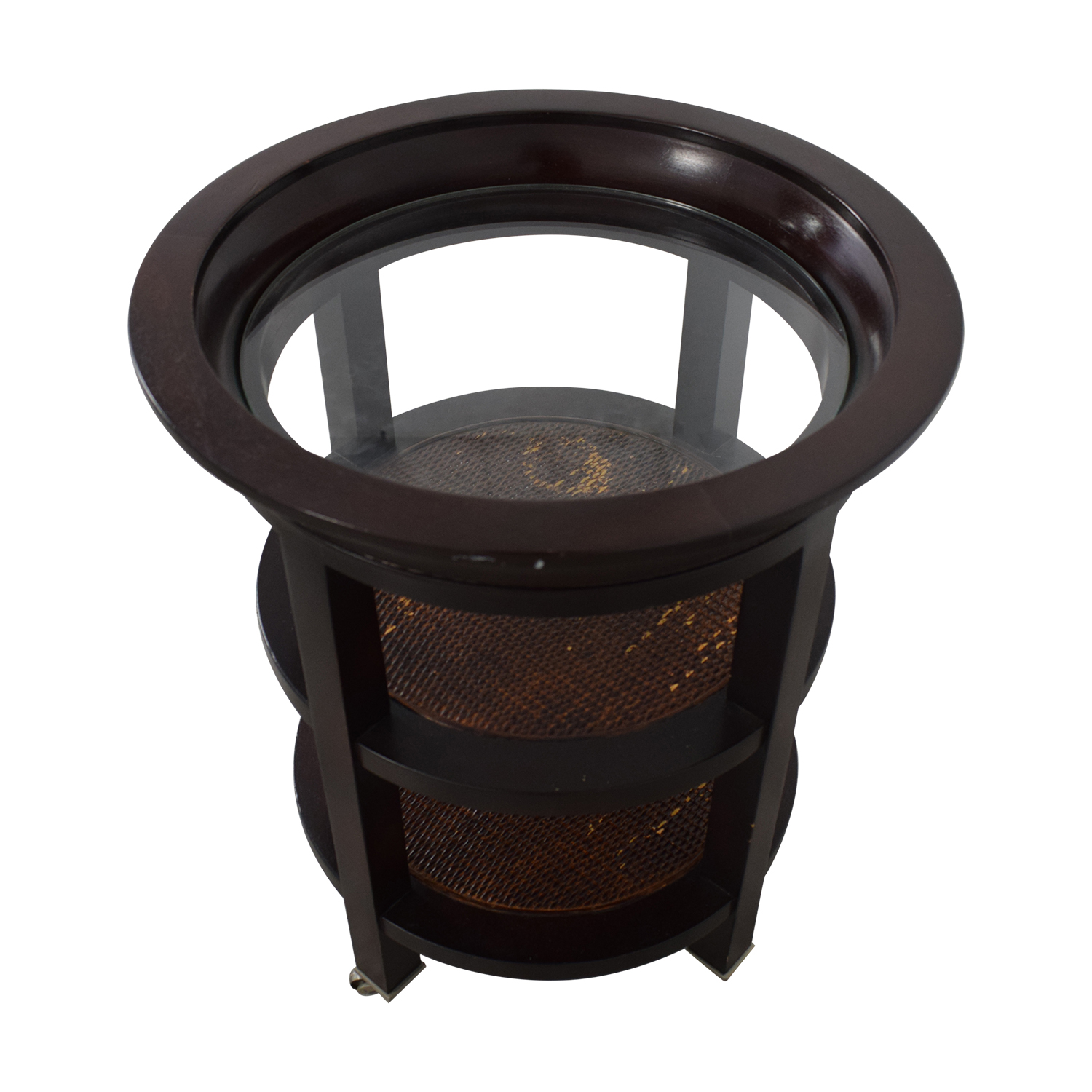 ABC Carpet & Home Round End Table / Tables