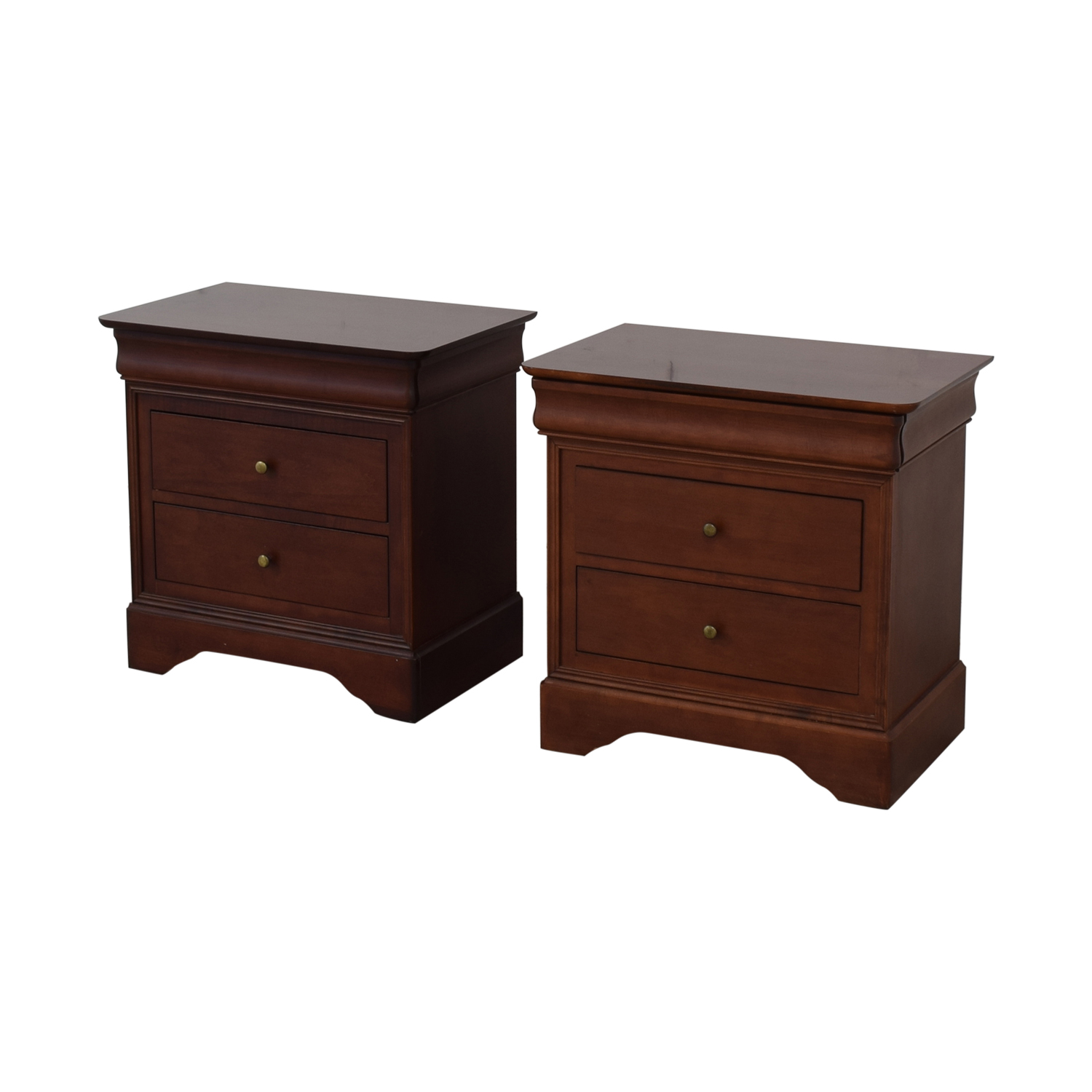 buy  Wooden Two Drawer Night Stands or End Tables online