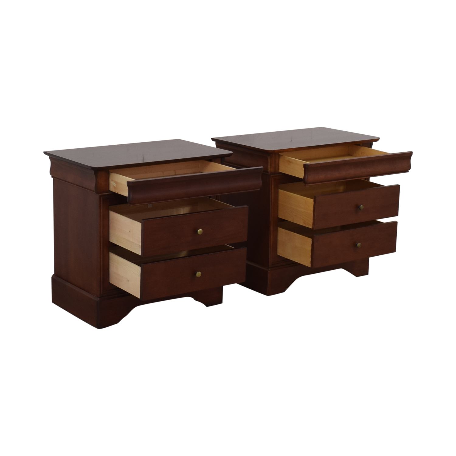 Wooden Two Drawer Night Stands or End Tables price
