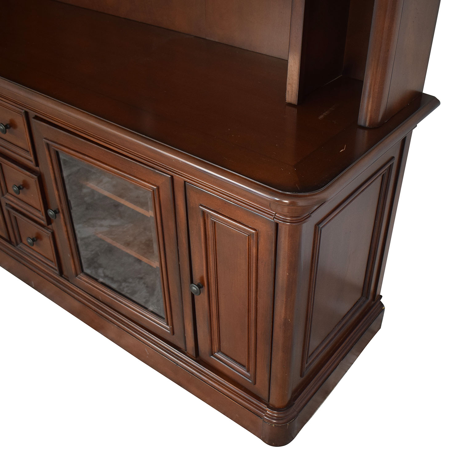 Golden Oak Furniture Golden Oak Furniture Entertainment Center used