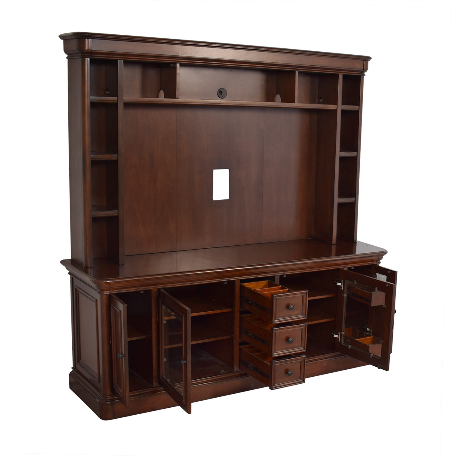 shop Golden Oak Furniture Entertainment Center Golden Oak Furniture Storage