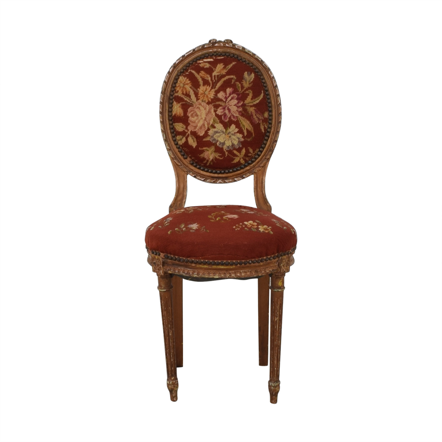 Antique Side Chair Accent Chairs