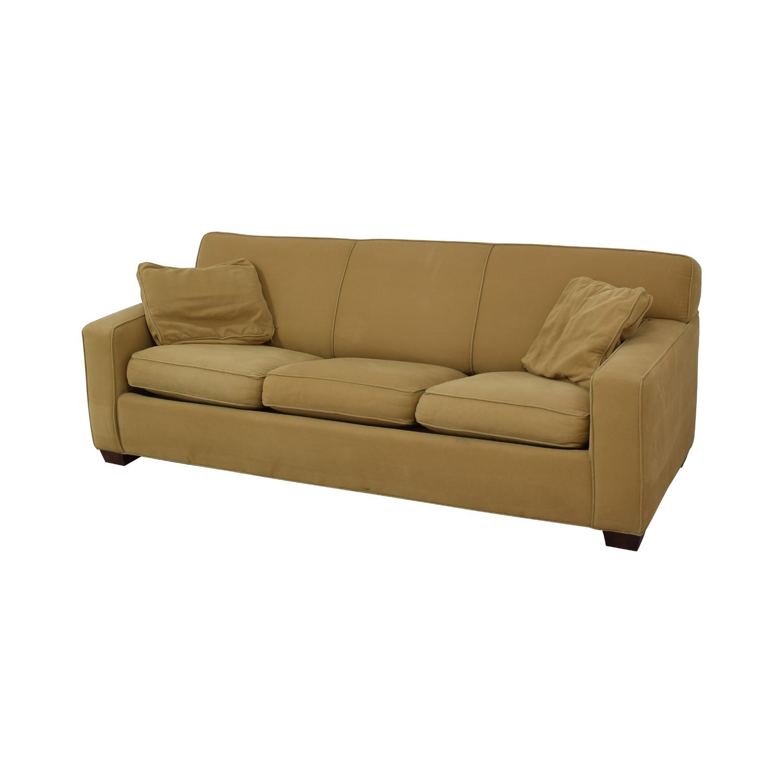 Crate & Barrel Crate & Barrel Cameron Queen Sleeper Sofa Sofas