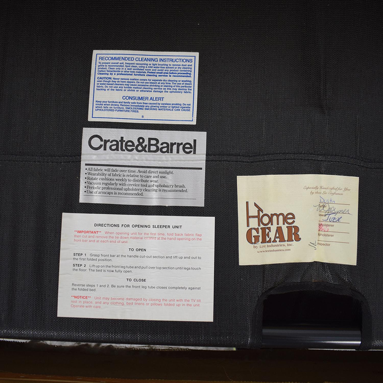 buy Crate & Barrel Crate & Barrel Cameron Queen Sleeper Sofa online
