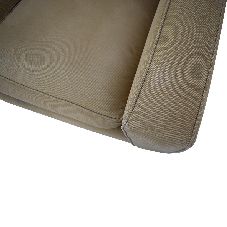 buy Crate & Barrel Cameron Queen Sleeper Sofa Crate & Barrel Sofas