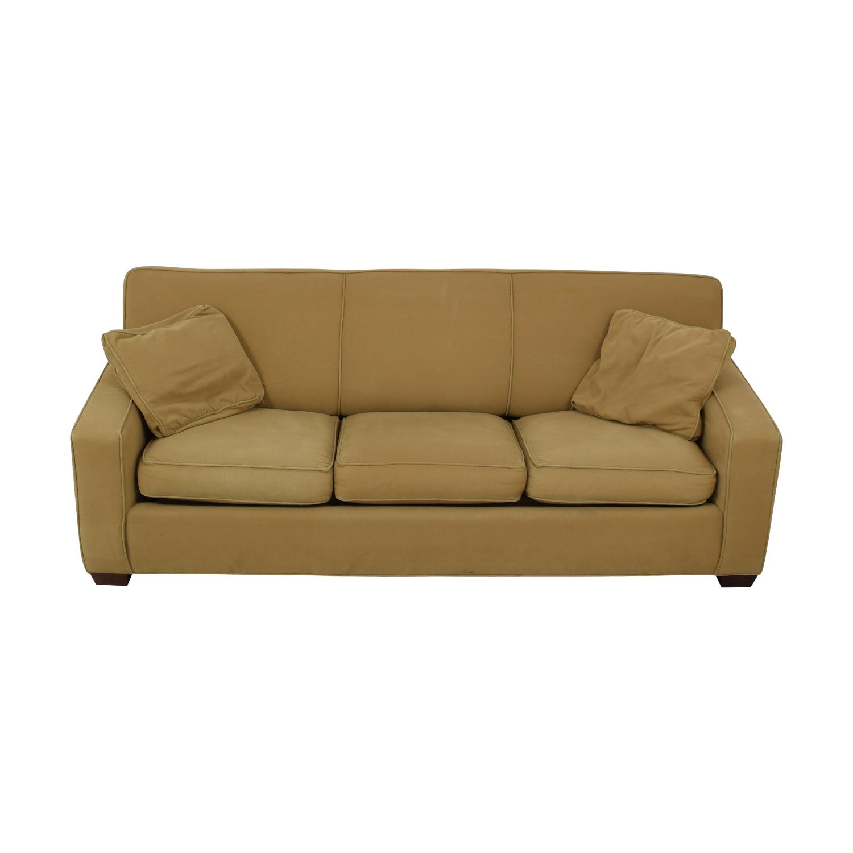 Crate & Barrel Crate & Barrel Cameron Queen Sleeper Sofa Sofa Beds