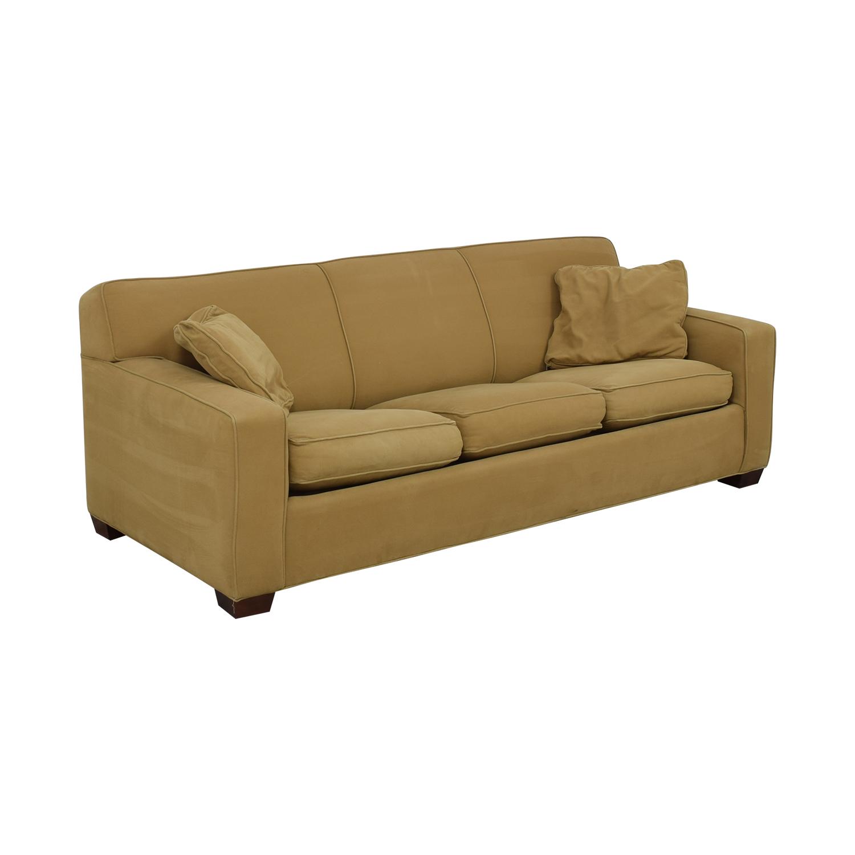 Crate & Barrel Crate & Barrel Cameron Queen Sleeper Sofa