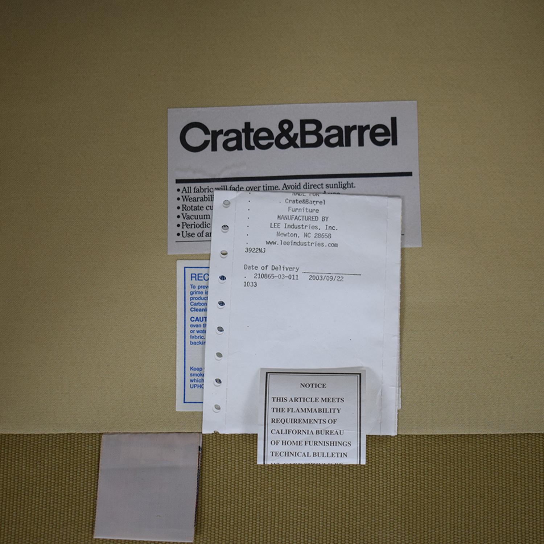 Crate & Barrel Crate & Barrel Cameron Armchair nj