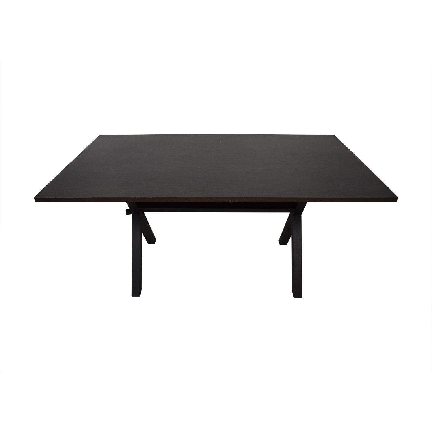 shop Design Within Reach X-Base Dining Table Design Within Reach Dinner Tables