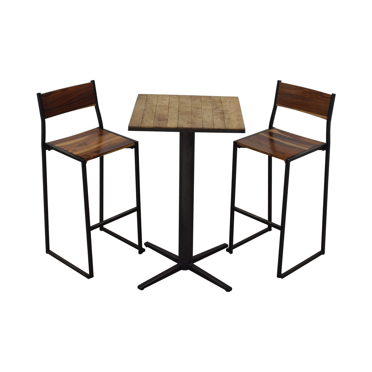 From the Source From the Source High Top Table and Bar Stools dimensions