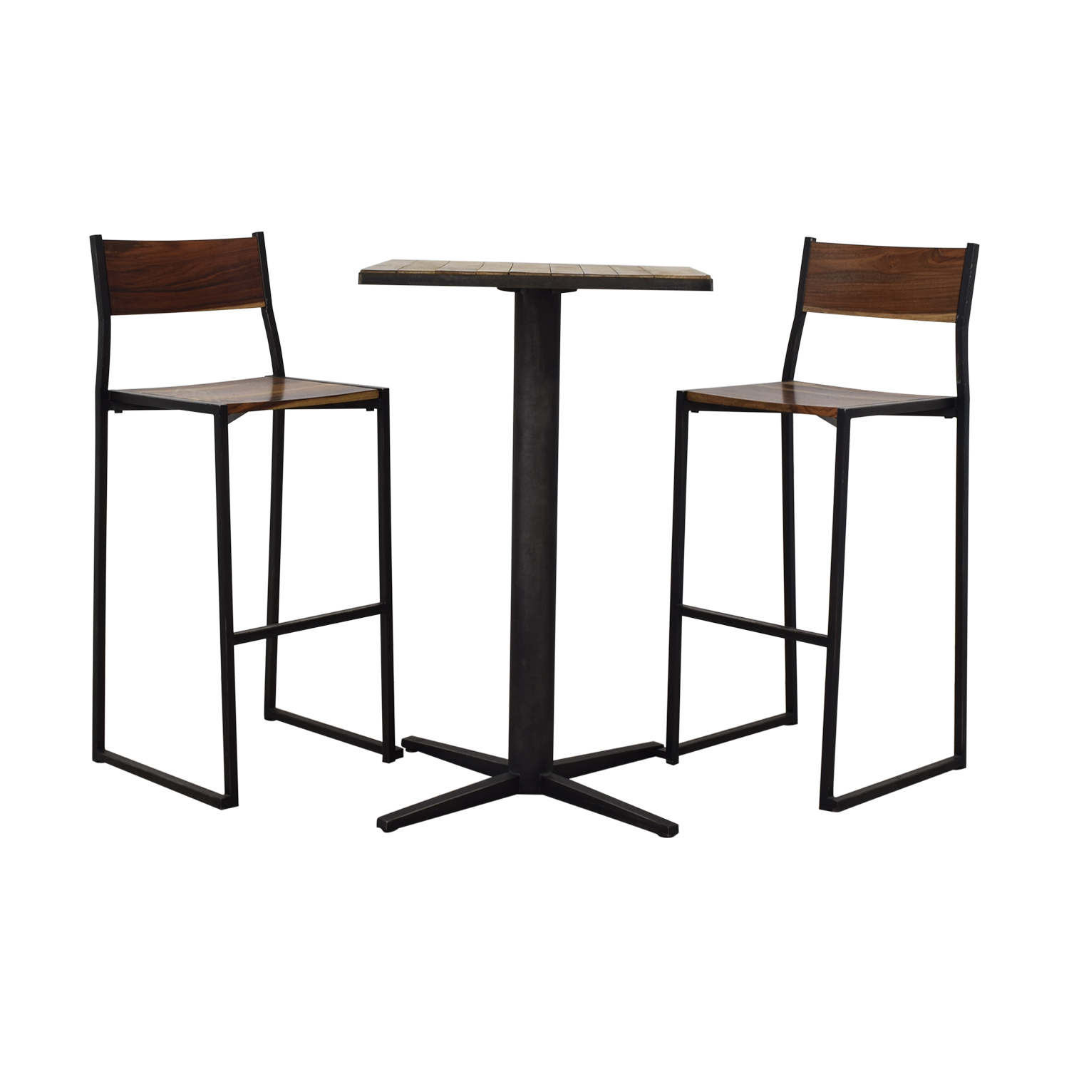 From the Source High Top Table and Bar Stools / Stools