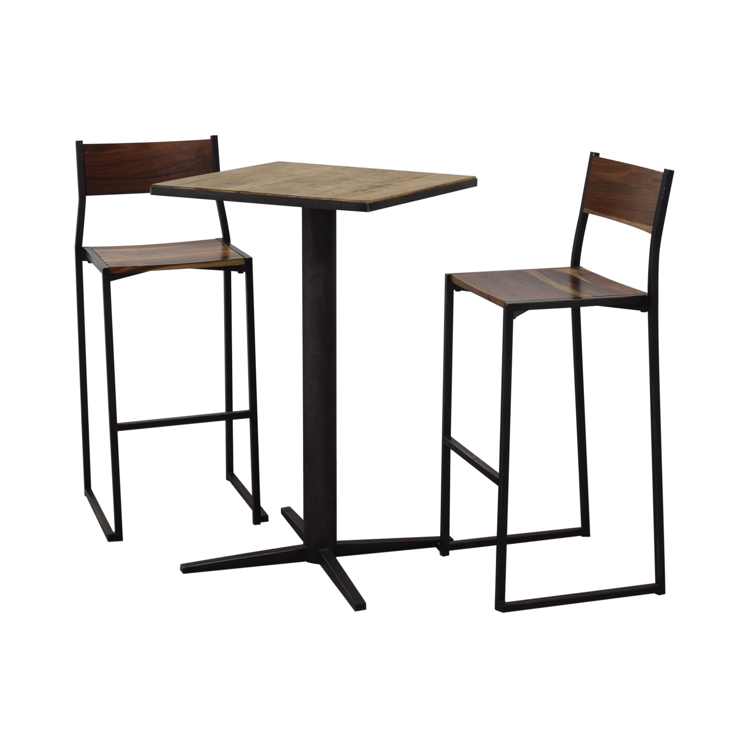 buy From the Source High Top Table and Bar Stools From the Source Chairs