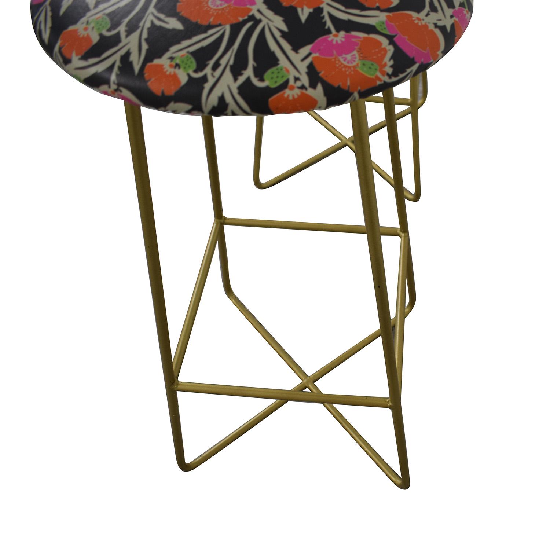 buy  Holli Zollinger Zebrini Floral Bar Stools online