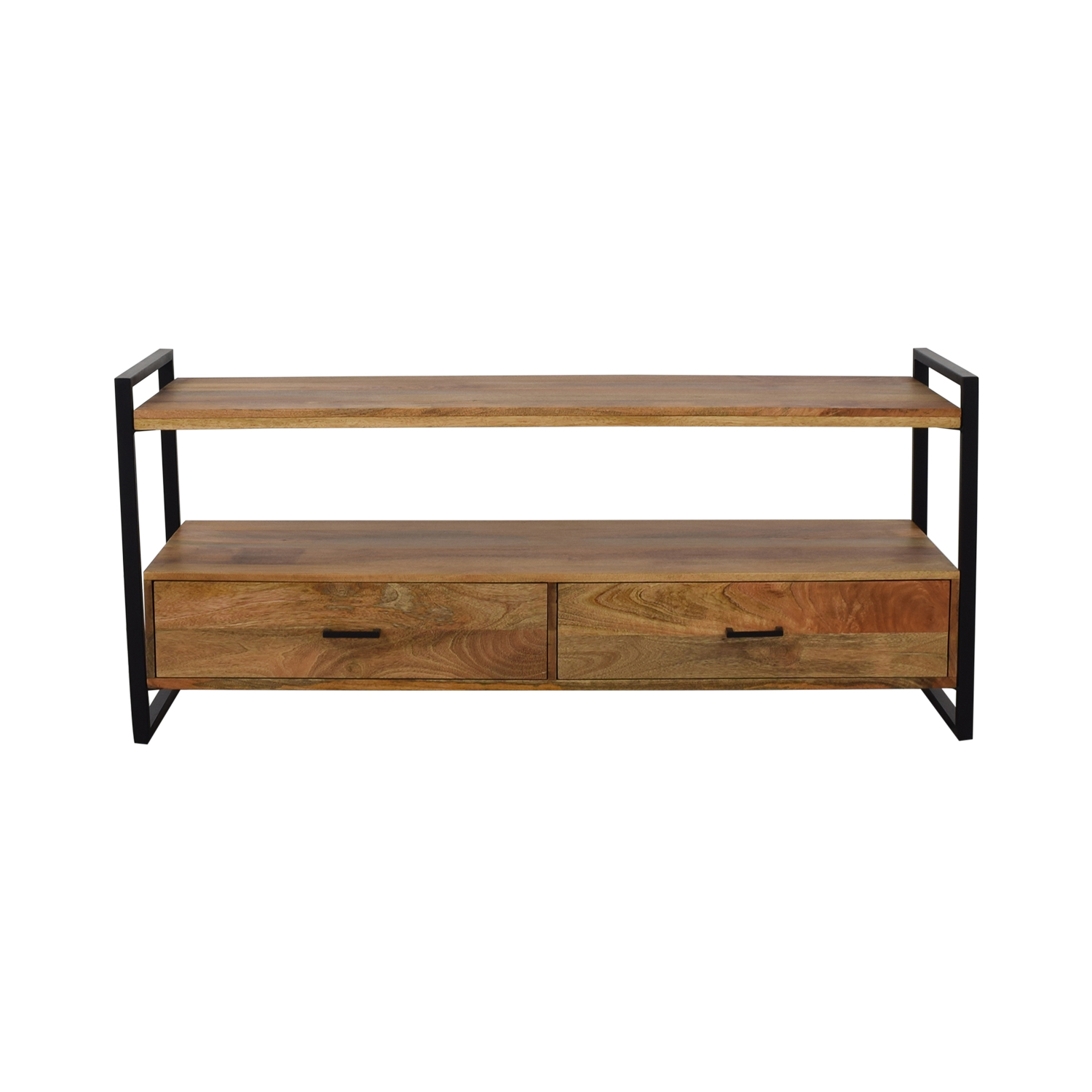 shop Simpli Home Industrial TV stand Simpli Home Storage