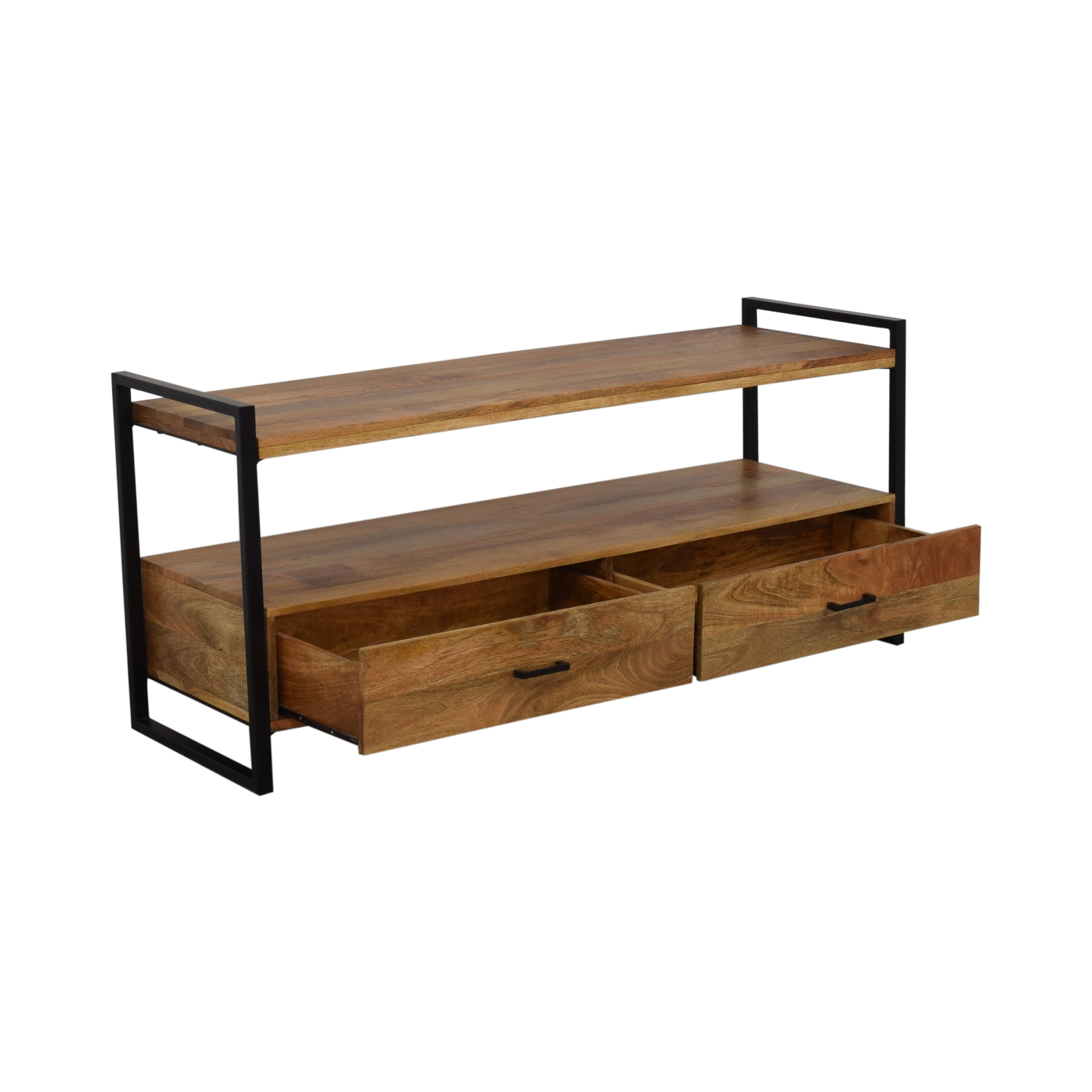 Simpli Home Industrial TV stand / Storage