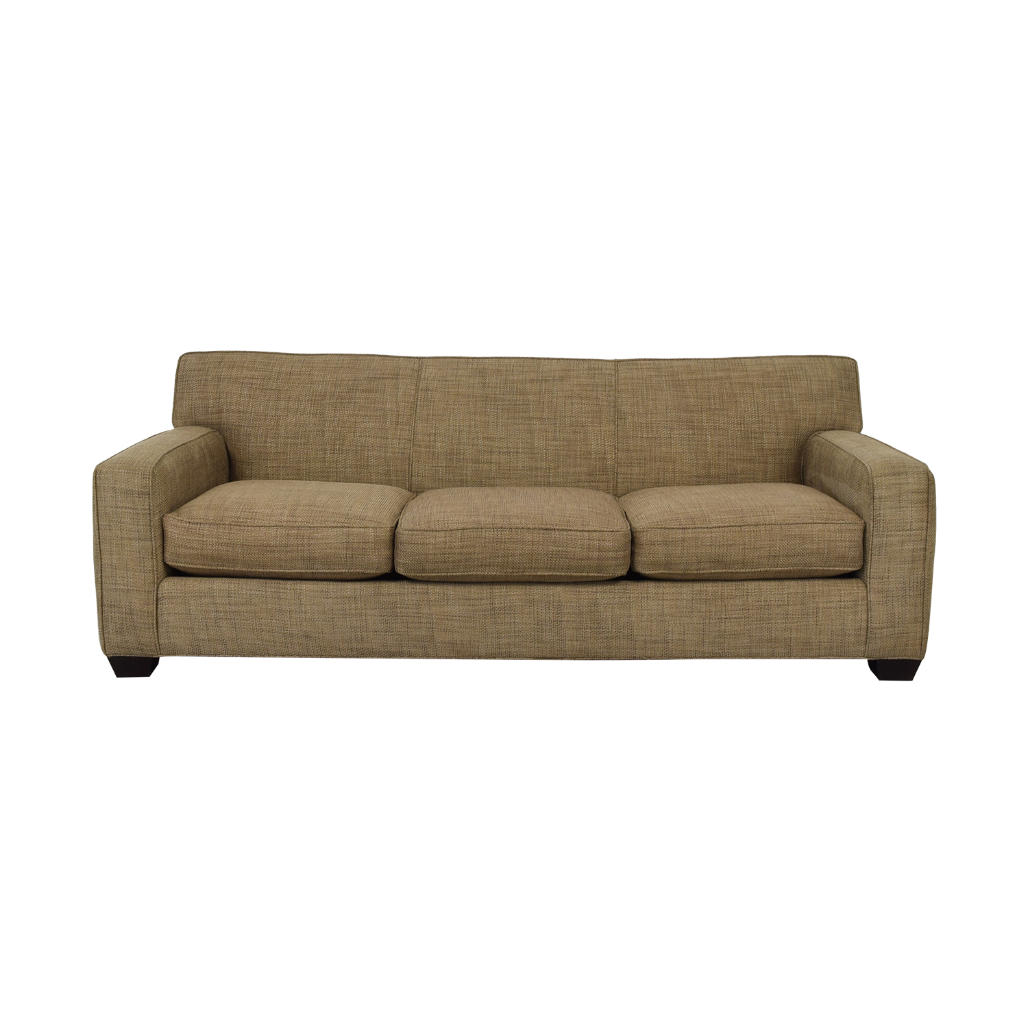 Crate & Barrel Crate & Barrel Three Cushion Sofa on sale