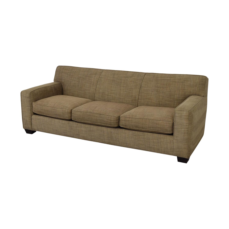 Crate & Barrel Crate & Barrel Three Cushion Sofa price