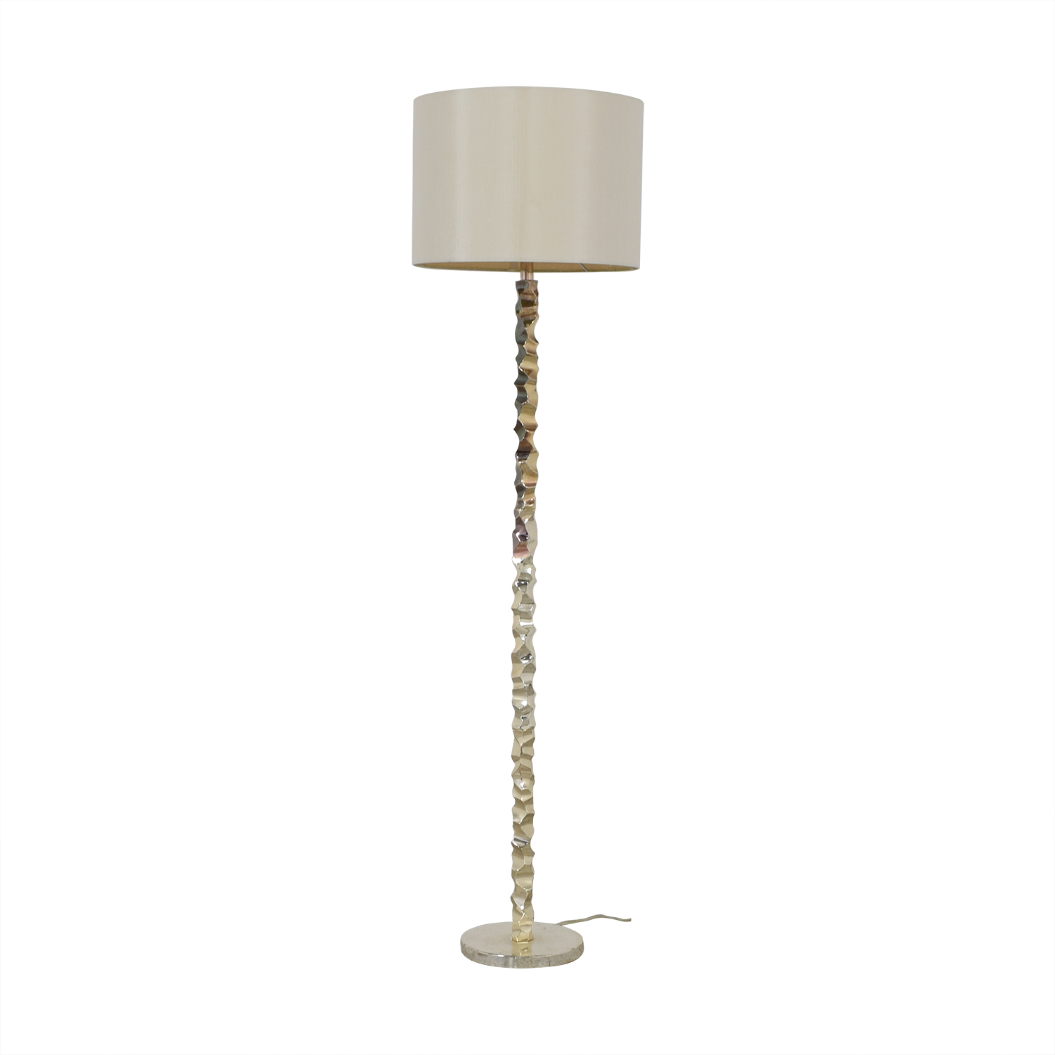 Metal Floor Lamp used