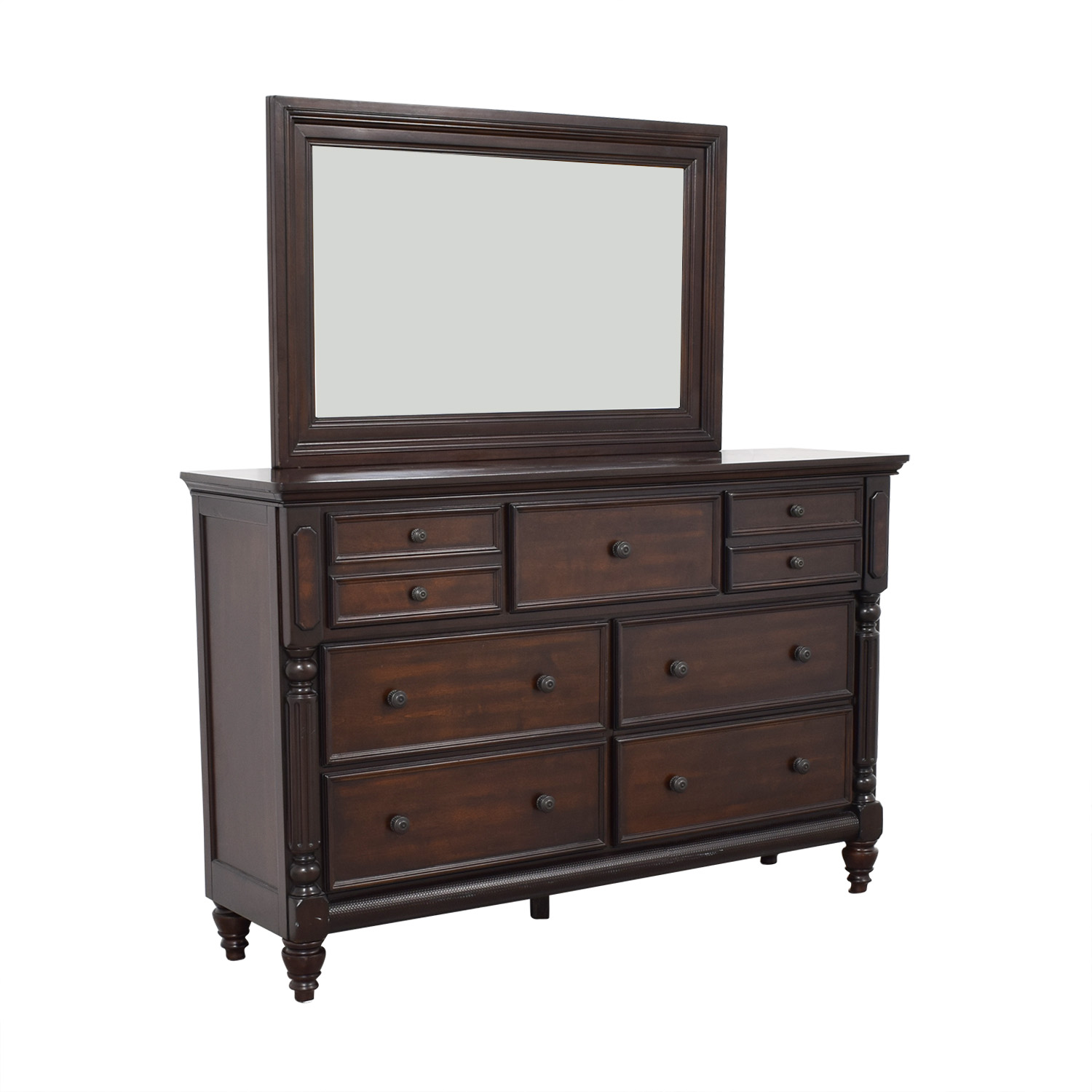 Ashley Furniture Ashley Furniture Key Town Dresser with Mirror discount