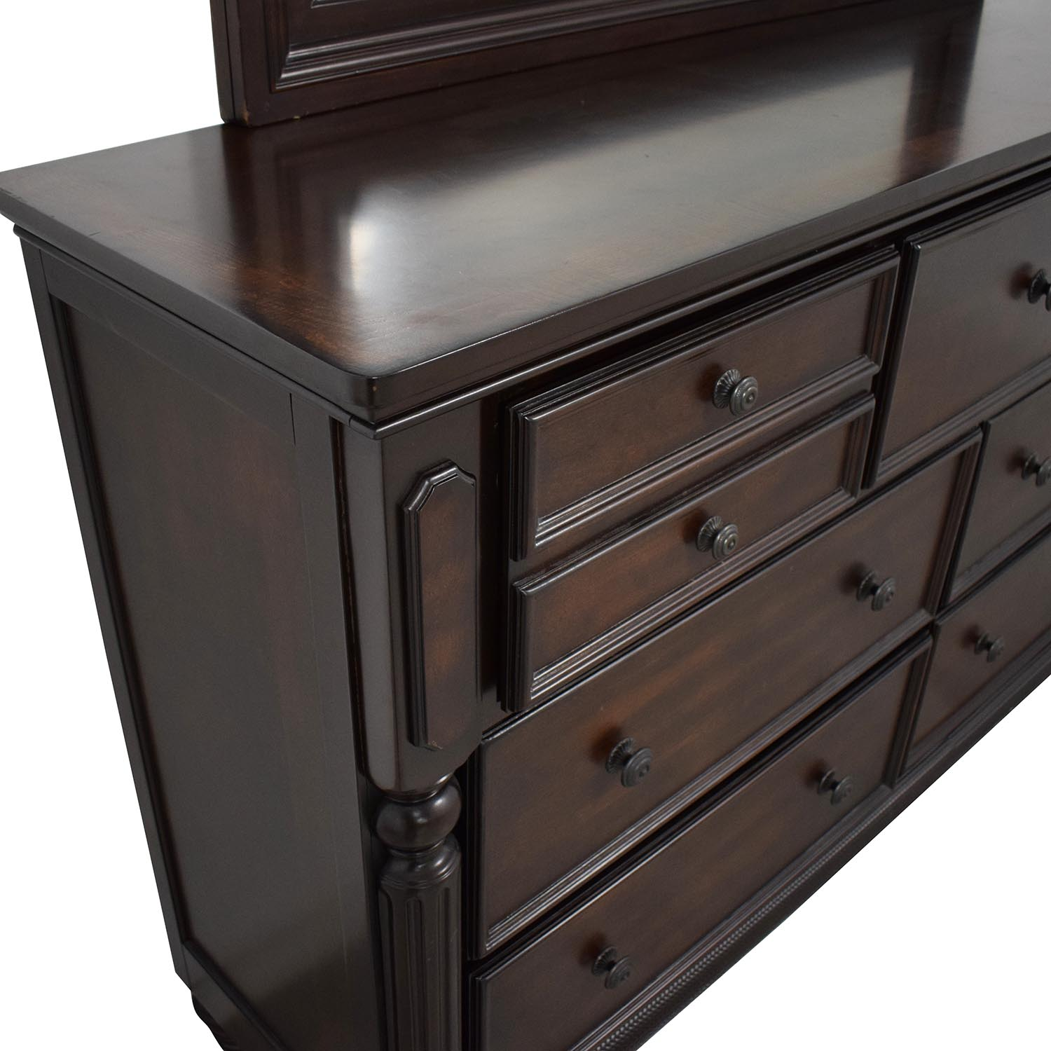 Ashley Furniture Ashley Furniture Key Town Dresser with Mirror used