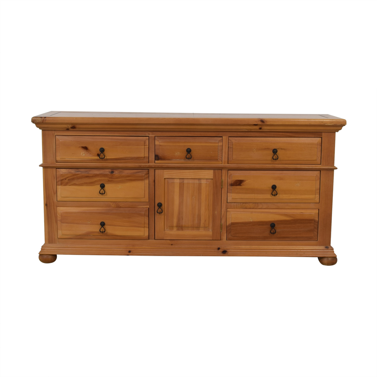 Broyhill Furniture Broyhill Furniture Wood Dresser with Cabinet second hand