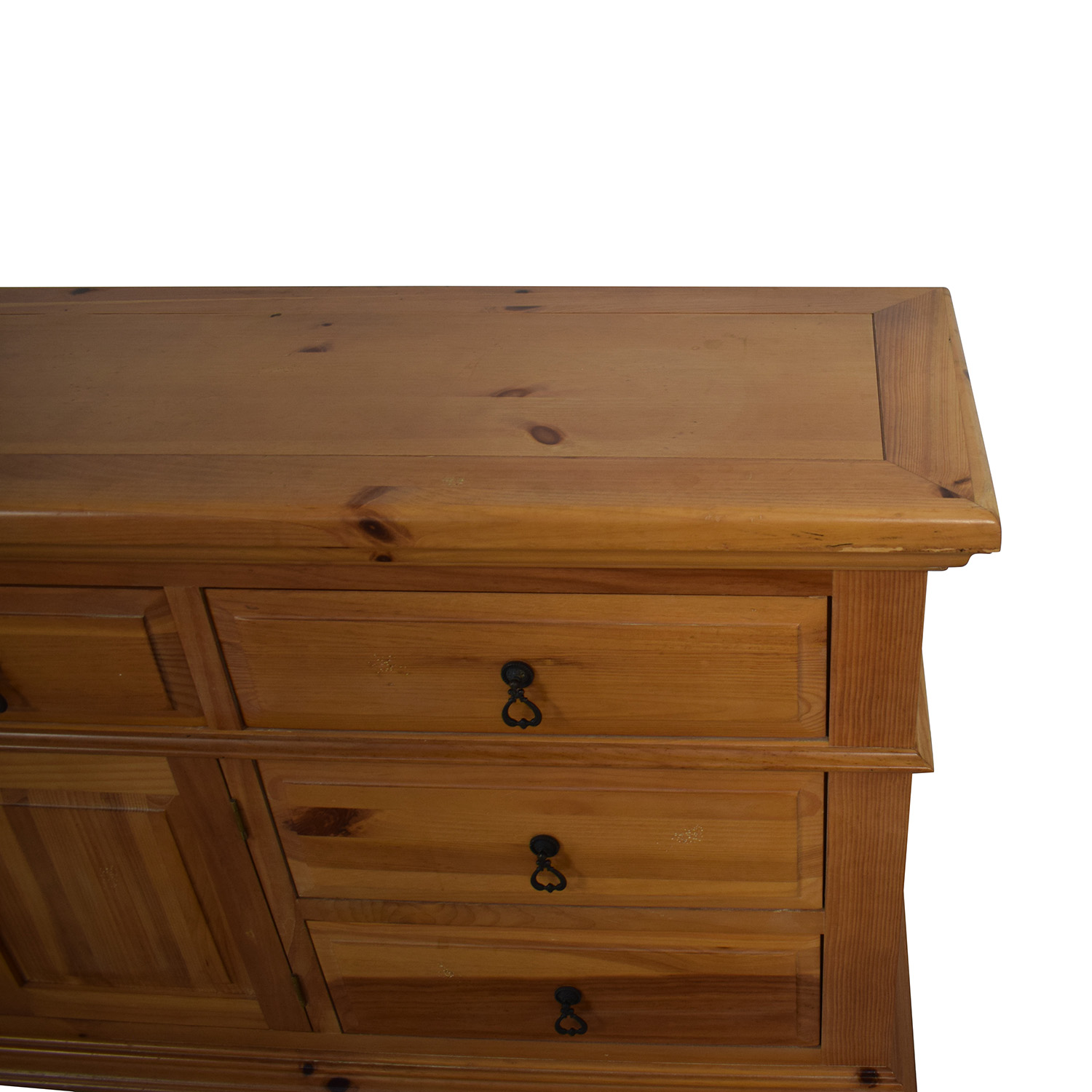Broyhill Furniture Broyhill Furniture Wood Dresser with Cabinet for sale