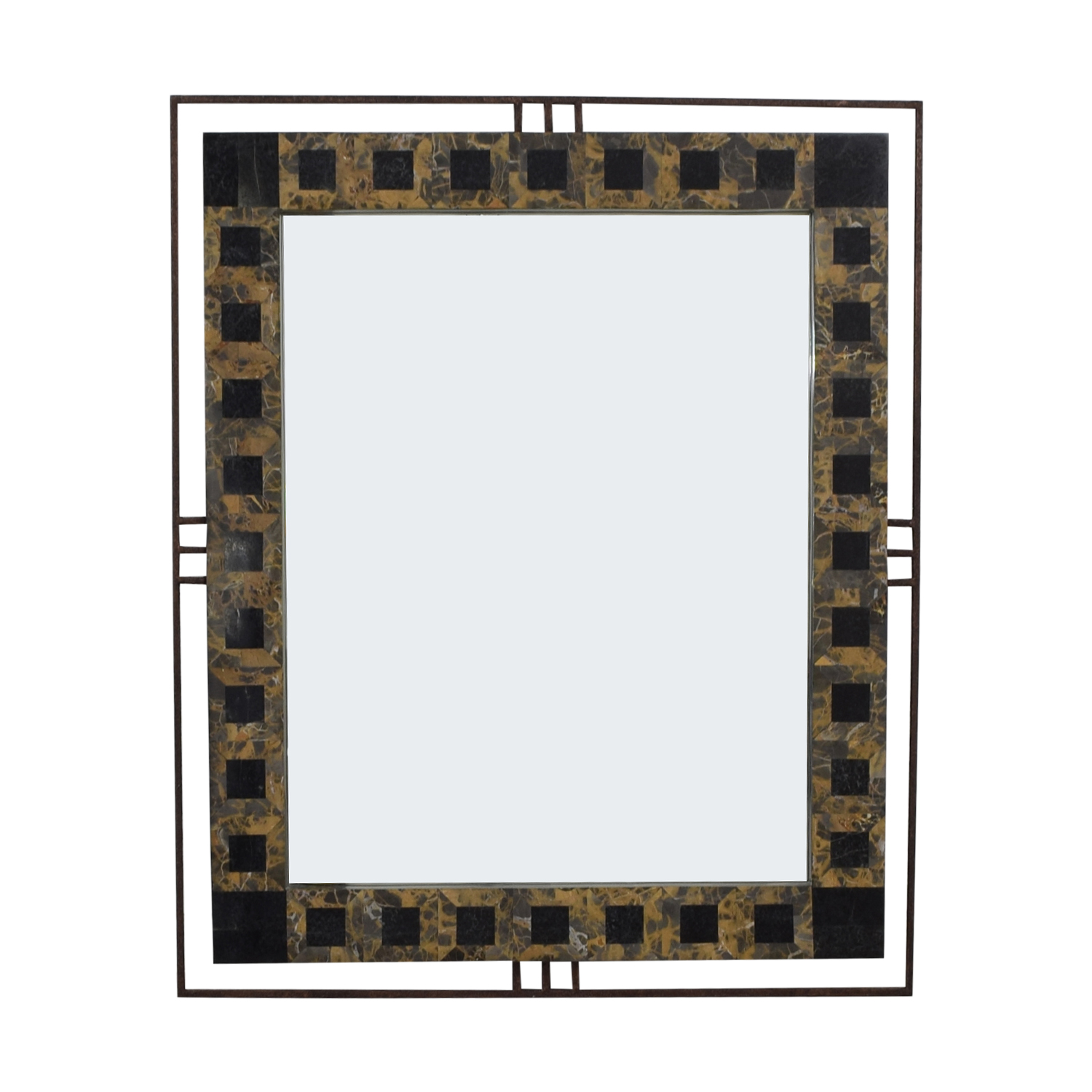 Large Double Framed Mirror Mirrors