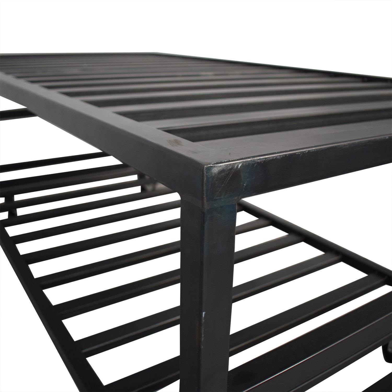 buy Room & Board Room & Board Steel Lofted Trundle Bed online