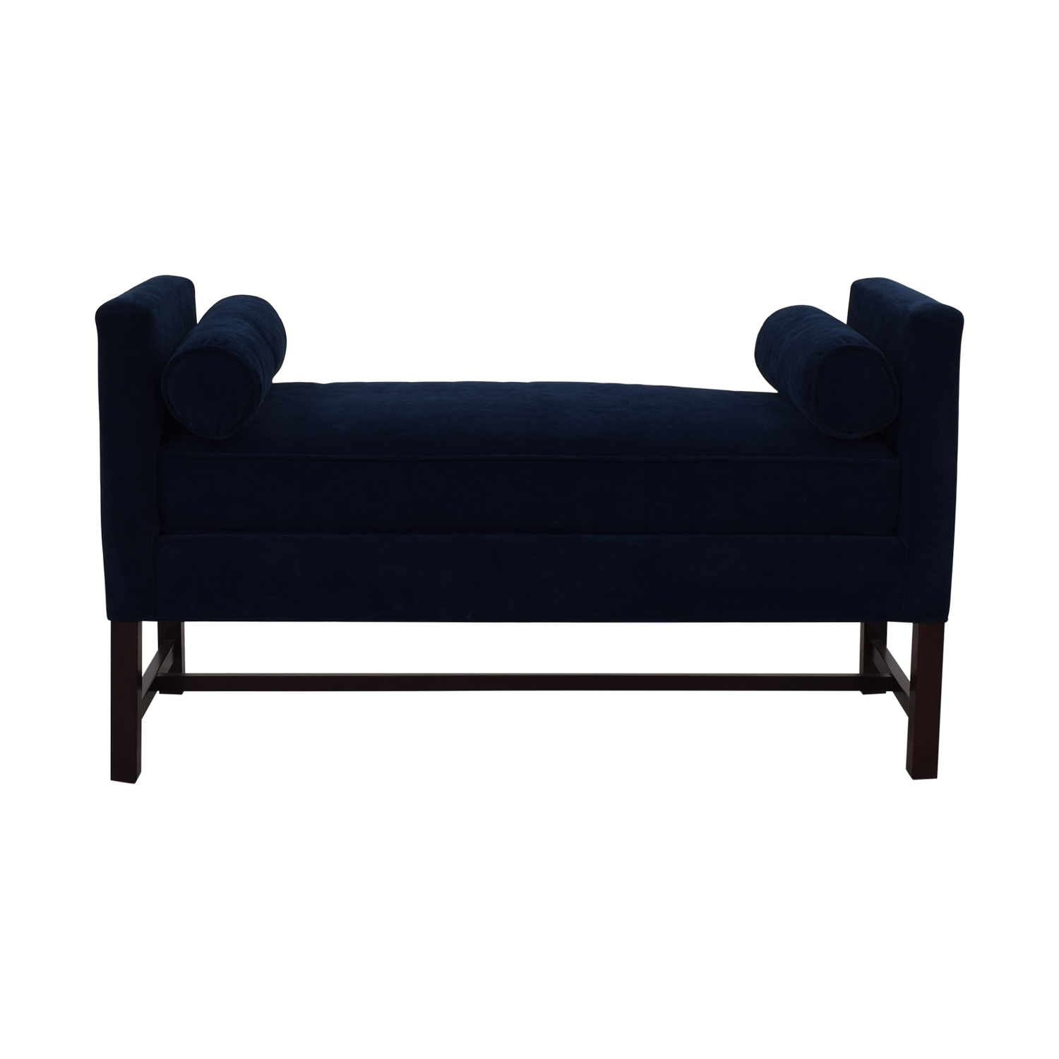 One Kings Lane One Kings Lane Kristen Drohan Collection Andrew Day Chaise blue