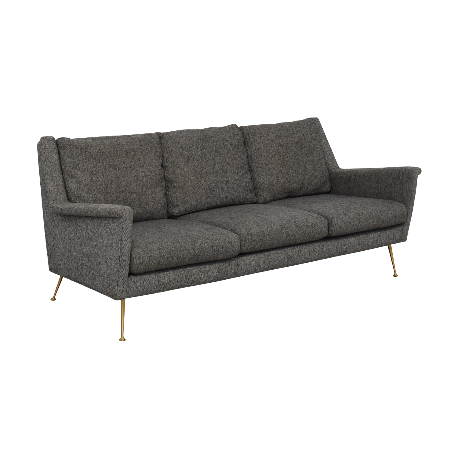shop West Elm Carlo Mid Century Sofa West Elm Classic Sofas