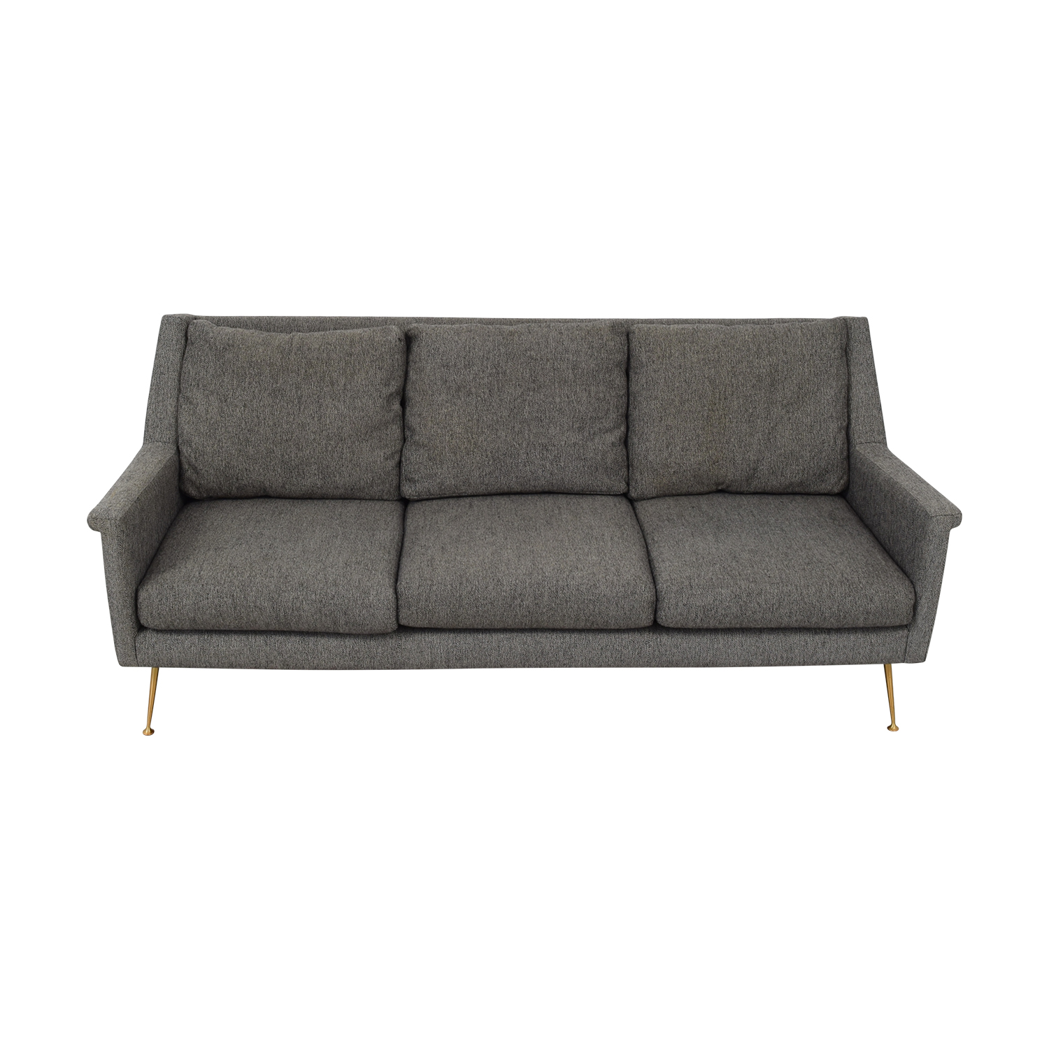 shop West Elm Carlo Mid Century Sofa West Elm