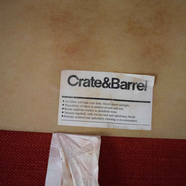 Crate & Barrel Crate  & Barrel Hennessy Sofa nyc