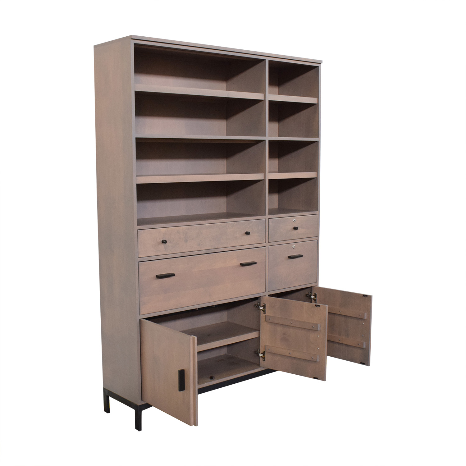 shop Room & Board Storage Cabinet Bookcase Room & Board Storage