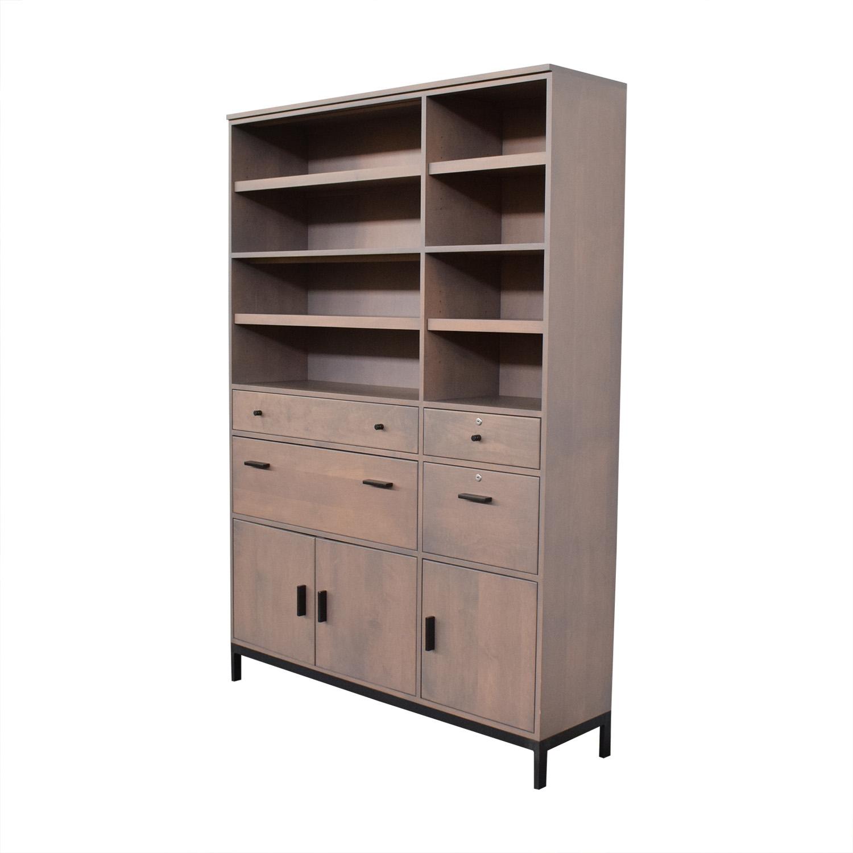 shop Room & Board Storage Cabinet Bookcase Room & Board