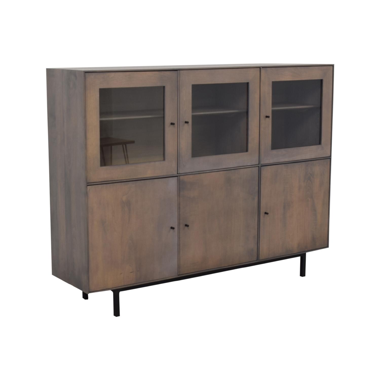 Room & Board Room & Board Hudson Custom Cabinet dimensions