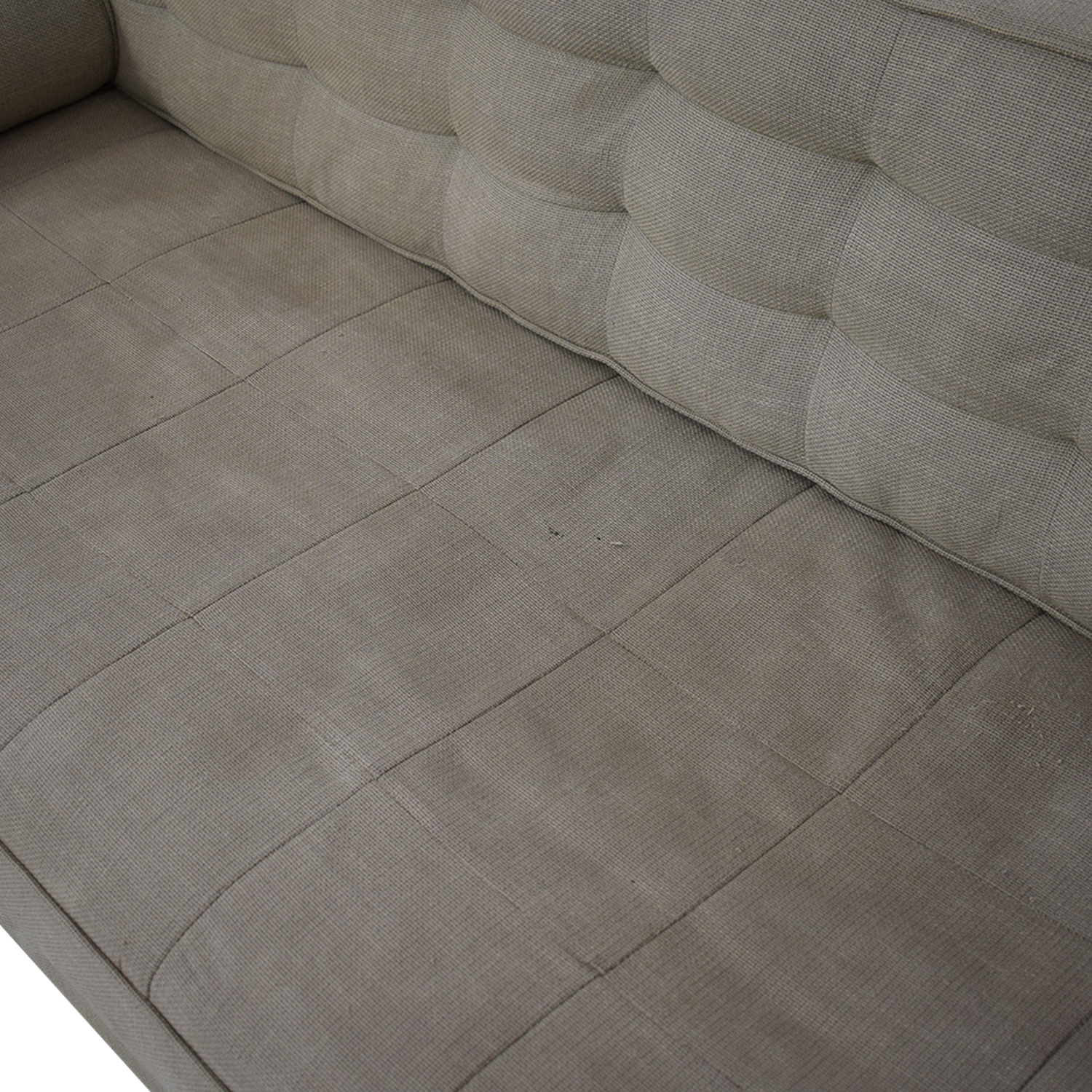 shop Custom Tufted Tuxedo Sofa