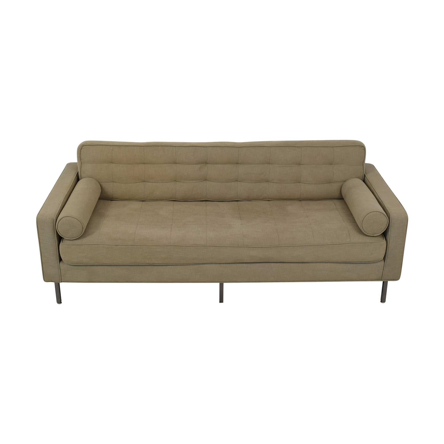 Custom Tufted Tuxedo Sofa discount